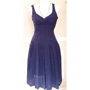 Lauren by Ralph Lauren dark blue dress